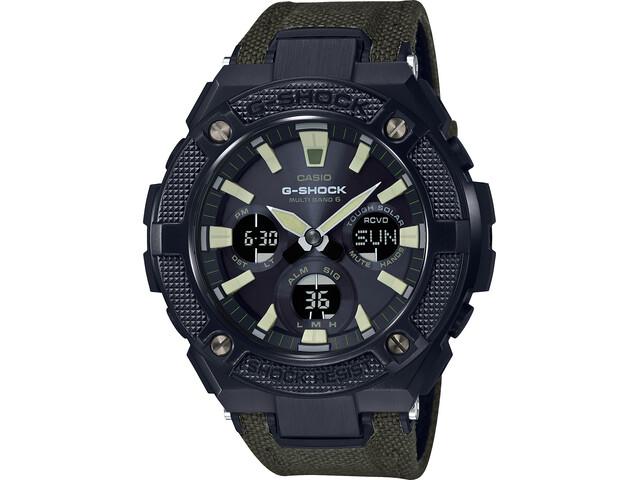 CASIO G-SHOCK GST-W130BC-1A3ER Zegarek Mężczyźni, green black/grey chrom